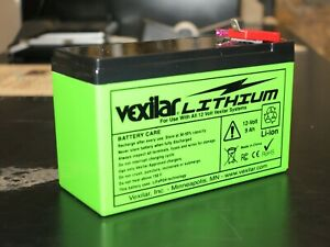VEXILAR MARINE LITHIUM V-100L 12-VOLT / 9Ah Lithium Ion Battery