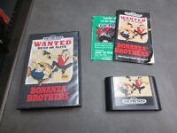 Bonanza Brothers (Sega Genesis, 1991)