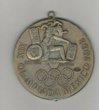 remembrance medal  Olympic Games MEXICO 1968 - 8 cm Special Edt  !  VERY RARE