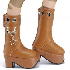 Dollmore  BJD MSD - Star Chain Boots (Brown)