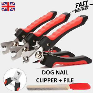Dog Nail Clippers Pet Cat Rabbit Sheep Animal Claw Trimmer Grooming Large Medium