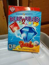 Bejeweled 2 Peggle 2 Disk Set  (Windows/Mac, 2007) PC Game CD-ROM (POP CAP 2007)