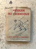 Modern Ski Techniques Otto Schneibs / McCrillis, 1935, HCDJ