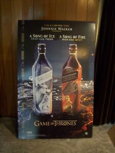 Johnnie Walker Fire & Ice Display Game of Thrones Man Cave