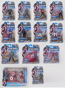 "Marvel Universe 3.75"" - Captain America The First Avenger 15 figures opened some"