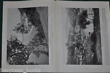 1916 MONASTERIES OF MT. ATHOS magazine article, Greece, Monks, history etc