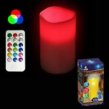 9cm Wax Led Candle Red Laser Light 12 Color Changing Party Bedroom Mood Light