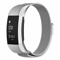 Stainless Steel Wrist Band For FitBit Charge 2 Watch Strap Replacement Metal