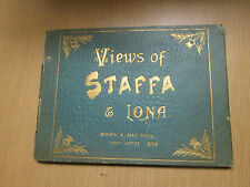 Photographic View Album of Staffa & Iona Circa 1910 Scotland