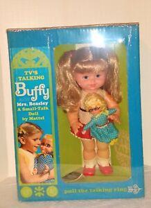 Buffy and Mrs. Beasley doll mint NFRB Mattel Family Affair Buffy and Jodi