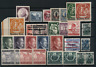 Germany. Deutsches Reich. Selection of MNH, MH or FU (*) stamps. Better once. 7