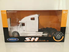 WELLY SUPER HAULIERS - FREIGHTLINER COLUMBIA 6 X 2 WHITE COLOUR 1:32 SCALE