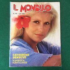 Rivista IL MONELLO n.44/1975 (ITA) CATHERINE DENEUVE TONY CURTIS R.COCCIANTE