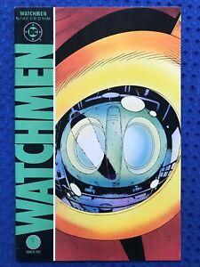 Watchmen #7  DC Comics 1987  1st printing  Alan Moore, Dave Gibbons