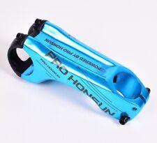 Aluminum MTB Mountain Road XC Bike drop handlebar stems -17° Stem 31.8*90mm Blue