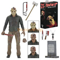 "NECA Friday The 13th Final Chapter Jason Voorhees 7"" Action Figure 2017 1:12 New"