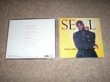 SEAL CD Kiss From a Rose JAPAN 7 TRACK EP With Instrumental & Unreleased Tracks