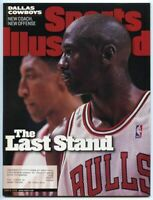 SI: Sports Illustrated June 8, 1998 The Last Stand: Michael Jordan Chicago Bulls