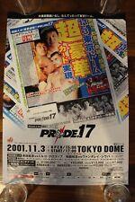 PRIDE 17 B3 POSTER - mma ufc