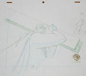 Original production drawing  - Superman