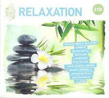 All you need is: relaxation 3 CD NUOVO