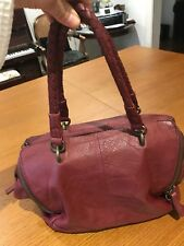 Liebeskind Berlin Leather Burgundy/ Wine Red shoulder bag. BRAND NEW WITH TAGS