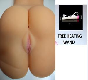LIFE SIZE Realistic vagina anal flesh masturbator TORSO sex toy for men  4.2kg