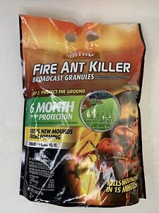 Ortho Fire Ant Killer Broadcast Granules 6 Month Protection Treats Up To 5000ft