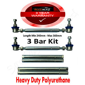 RoadNutz Front 3Bar Drop Link Kit for Volvo XC70 II 2.0/2.4/2.5i/2.4TD AWD 00-08