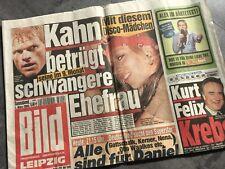 BILD Zeitung 01. März 2003 / 03. / 01.03.2003 / Verena Kehrt Kahn Oliver