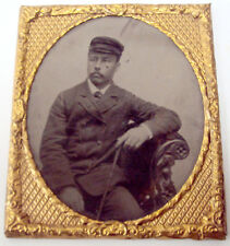 Antique Ambrotype Photograph Young Victorian Gentleman Portrait