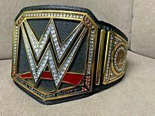 WWE Championship Black Replica Title Belt (2014) Leather Heavy