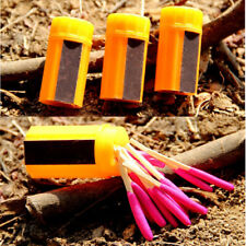 New Camping Stormproof Match Matches Kit Wind-proof Survival Emergency gear Warm