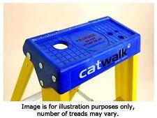 Youngman Catwalk S400 1 Metre Heavy Duty Fibreglass Step Ladder 4 Tread