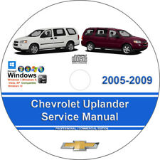 repair manuals literature for chevrolet ebay rh ebay com 2005 Uplander Parts 2009 Chevy Uplander