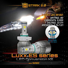 Stark LED 80W 9000LM 3-Sided All in One Kit 6000K 6K White Fog Light - 5202 2504