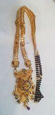 20kt gold necklace pendant mangalsutra handmade tribal jewellery