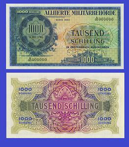 AUSTRIA 1000 SCHILING 1944    -Reproduktion
