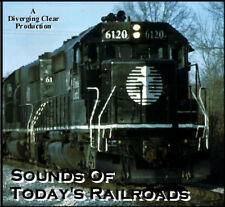 Train Sound CD: Sounds Of Today's Railroads (Original 2003 Release)