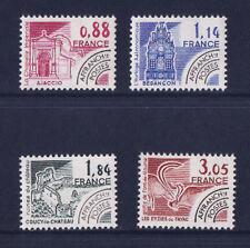 timbre France préoblitéré   monuments     n° 170/73  **
