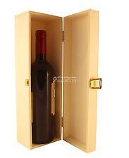 CASSETTA in legno naturale portabottiglia vino