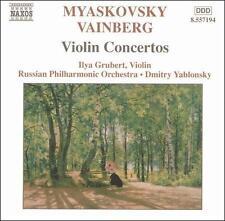 Myaskovsky, Vainberg: Violin Concertos, New Music