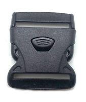 10 Stück Klickverschluss /Klippverschluss Steckschließer für Gurtband 50mm 3pkt