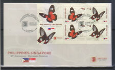 "Philippines Stamps 2019 RP-Singapore Butterflies ""Singpex"" FDC, Singapore cancel"