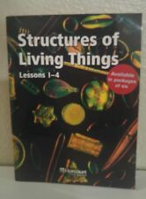 STRUCTURES OF LIVING THINGS BELOW-Level READER 5TH GRADE 5 SCIENCE HARCOURT NEW