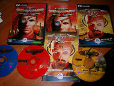 Command and Conquer Red Alert 2 Doble Pack para PC con Yuri's Revenge & Manuales