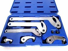 US PRO 6pc Adjustable Hook & Pin Wrench Set C Spanner Kit 35mm - 120mm 6811