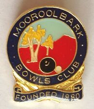 Mooroolbark Bowling Club Badge Founded 1880 Rare Vintage (L4)