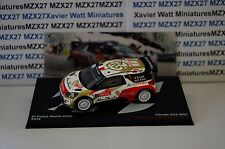 VOITURE RALLYE CITROEN DS3 WRC RALLYE MONTE CARLO 2013 S.LOEB/D.ELENA 1/43  IXO