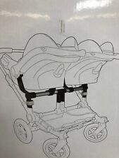 Bugaboo Donkey Twin Car Seat Adapter Maxi-Cosi/Nuna ~ New In Box!